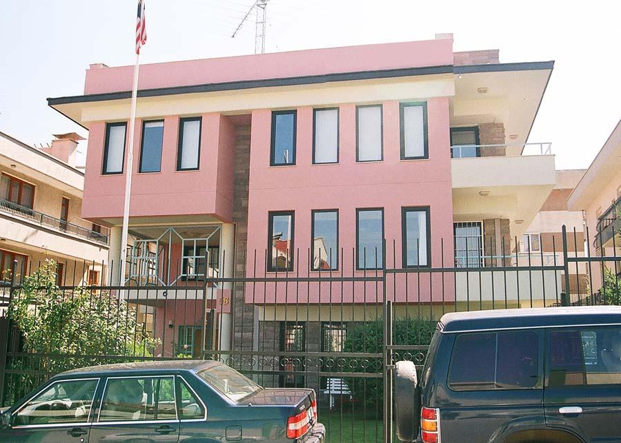 Baran yap end strisi proje ve m a for Consul building